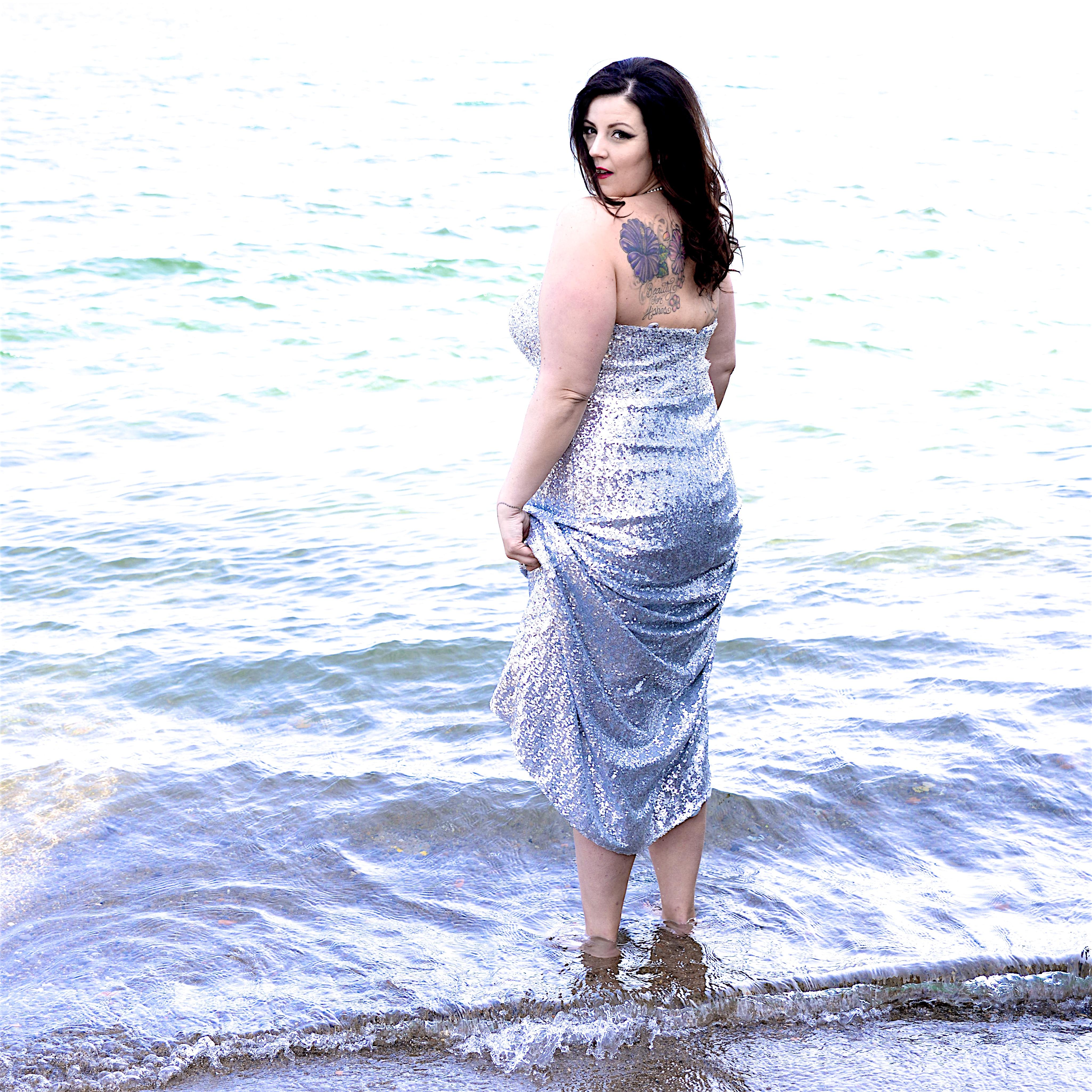 Sarah Taylor Sequin Dress Sydnesy's Closet Plus Size Dress Plus Size Gown Miss Plus Canada (6)