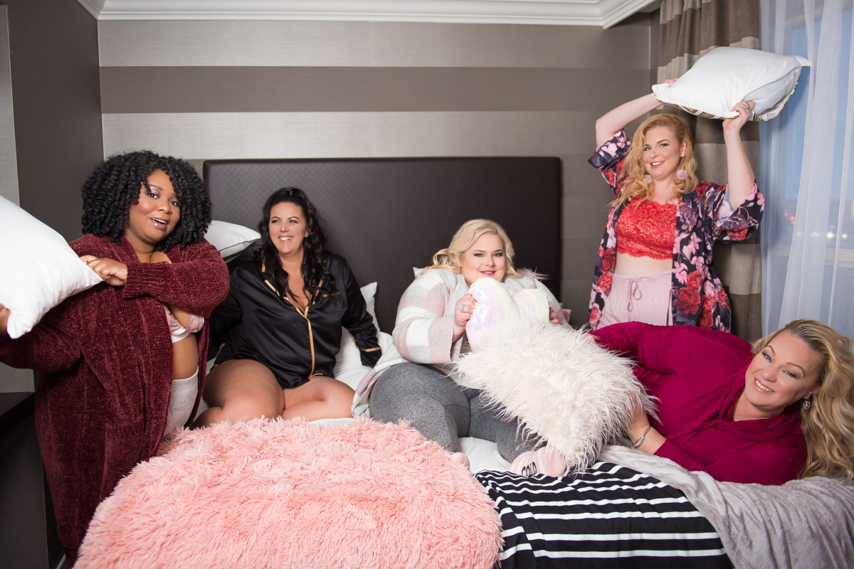 bd8ebad1a9f HolidayDoubleSlay Pajama Party with Lane Bryant